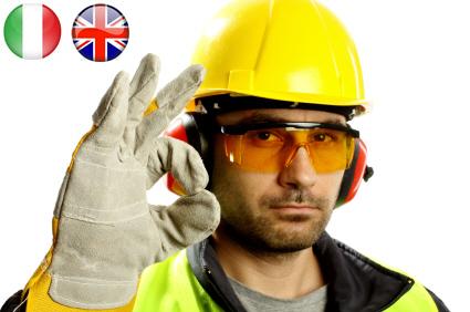 Corso Sicurezza Lavoratori italiano e inglese