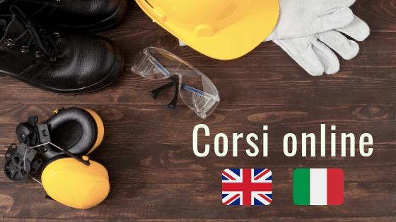 Corsi sulla Sicurezza sul Lavoro in Italiano e Inglese