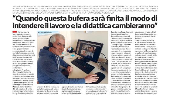 Intervista con Tempo News Carpi